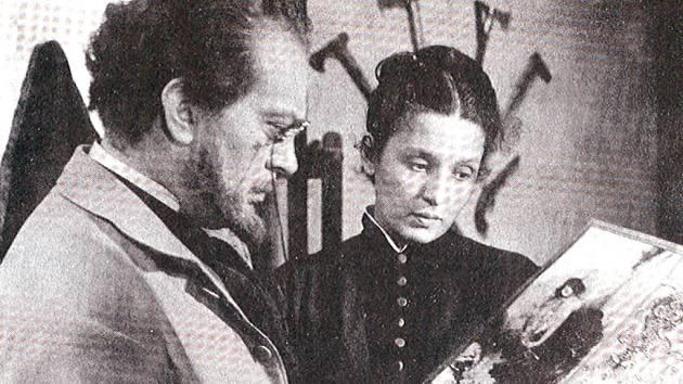 Karel Höger si s Danou Medřickou zahrál ve filmu Mikoláš Aleš.
