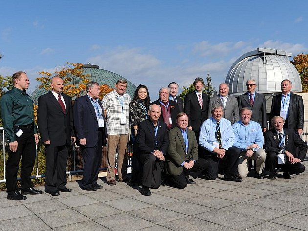 Mezinárocní kongres účastníků kosmických letů.