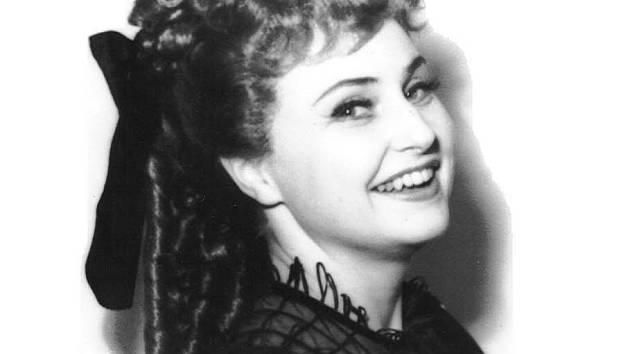 Sylvia Kodetová v jedné ze svých rolí. Operní pěvkyně zemřela ve věku 88 let.