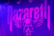 Koncert skotské skupiny Nazareth v brněnském Sono centru.