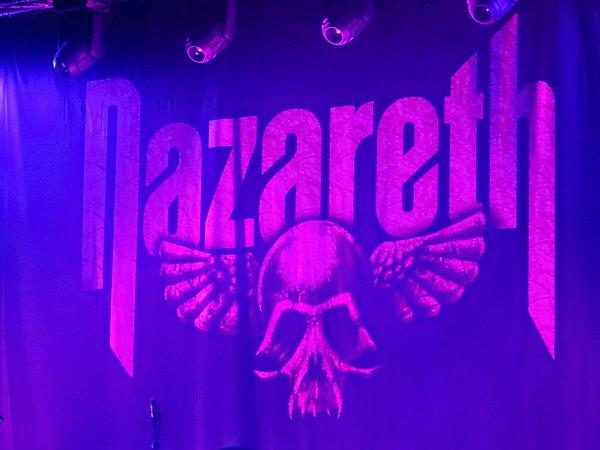 Koncert skotské skupiny Nazareth vbrněnském Sono centru.