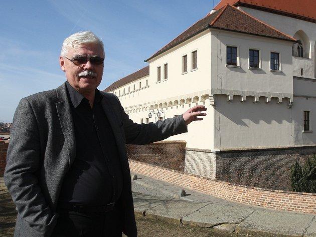 Ředitel Městského muzea Brno Pavel Ciprian.