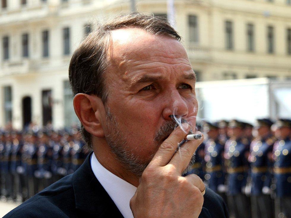 Mluvčí prezidenta republiky  Petr Hájek