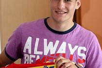 Devatenáctiletý útočník Michael Rabušic.