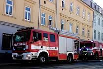 Ve čtvrtek kolem půl druhé odpoledne hořelo v přízemním bytě v brněnské Václavské ulici.