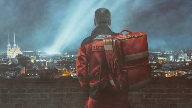 Na nový charitativní kalendář využijí záchranáři fotografie ze své činnosti za poslední roky.