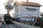 Do Židlochovic se v neděli vrátil vlak. Po čtyřiceti letech.