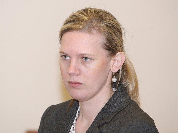 Odsouzená Renata Weisová.