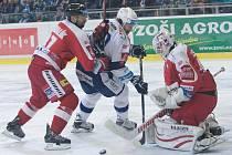 Hokejisté brněnské Komety podlehli v domácím prostředí v 39. kole extraligy Olomouci 1:3. Zradila je efektivita v zakončení. Naopak Olomouc vytěžila z minima maximum a Kometu porazila podruhé za sebou.
