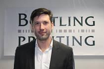 Výkonný ředitel Bottling Printing Miroslav Volařík získal řadu zkušeností v zahraničí.