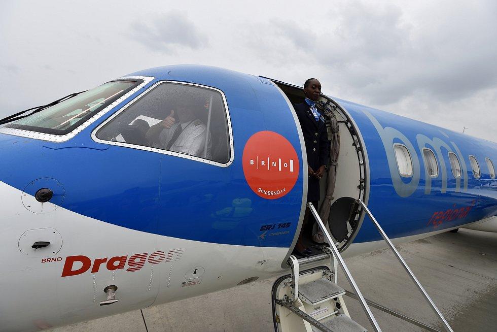 Letecká linka Brno - Mnichov.