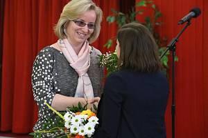 Ocenění učitelů v Rytířském sále Nové radnice v Brně.