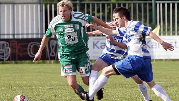 Bystrčtí fotbalisté prohráli se Znojmem na domácím hřišti 0:2.