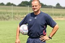 Někdejší hráč Drnovic a bývalý trenér brněnské Zbrojovky Róbert Kafka.