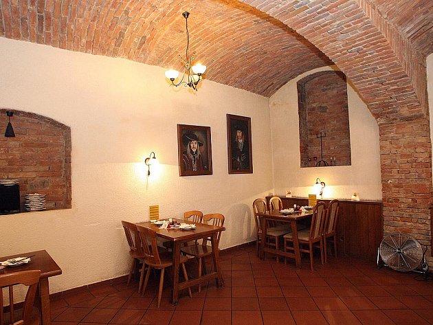 Brněnská restaurace Thalie.