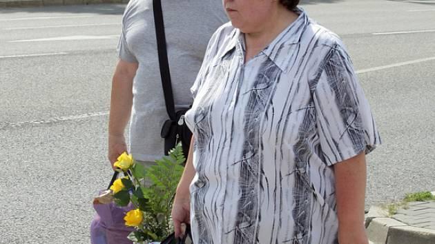 Rosnerovi opoustili Vazební věznici v Brně.