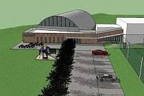 Ve Velkých Němčicích plánují výstavbu nové sportovní haly.