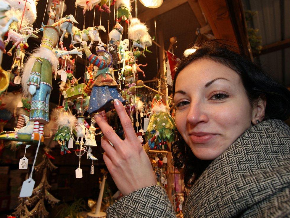 Vánoční trhy ve Vídni.