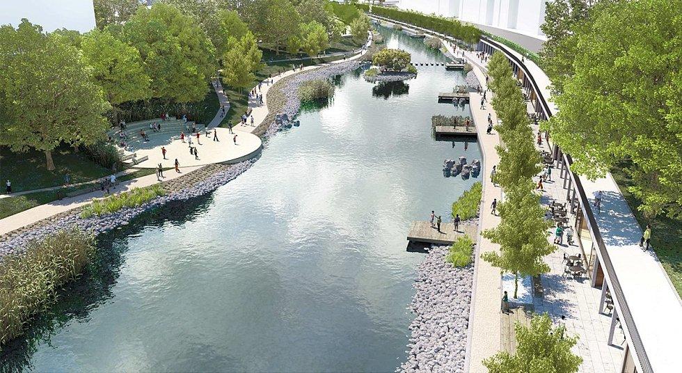 V architektonické soutěži o podobu svrateckého nábřeží zvítězil tým Ivana Rullera. Projekt za 360 milionů korun promění okolí Svratky za tři až čtyři roky.