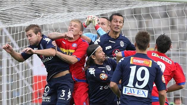 Derby 1. FC Brna a Slovácka.