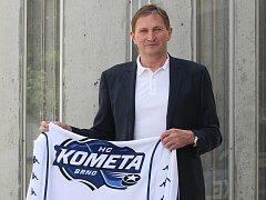Nový trenér Komety Alois Hadamczik.