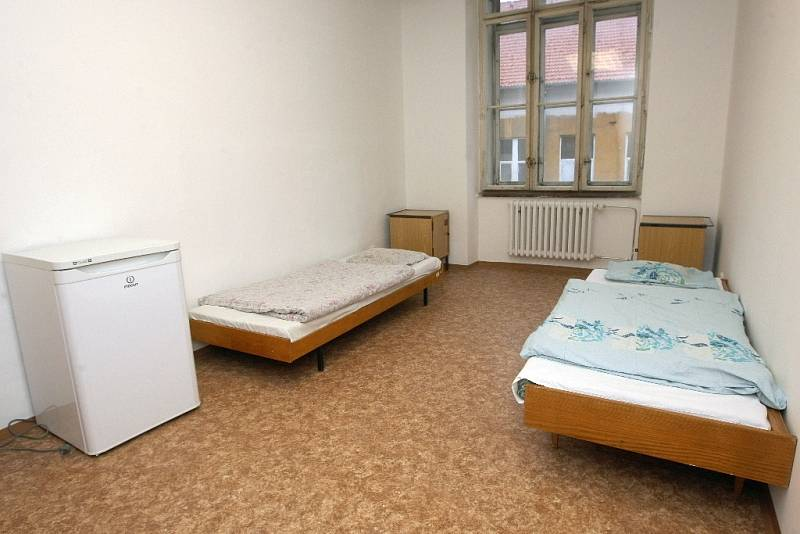 Centrum pro lidi bez domova v Bratislavské ulici v Brně.