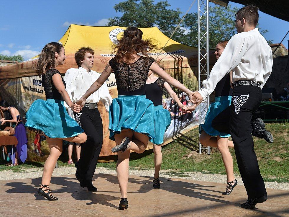 Keltské slavnosti na hradě Veveří.