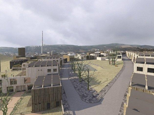 Rozmístění nízkých domů má podle projektu připomínat středověkou vesnici. Studii ještě doplní také návrhy Úřadu městské části Maloměřice a Obřany. Ten by v území rád viděl například mateřskou školu nebo okruh pro in-line bruslaře.