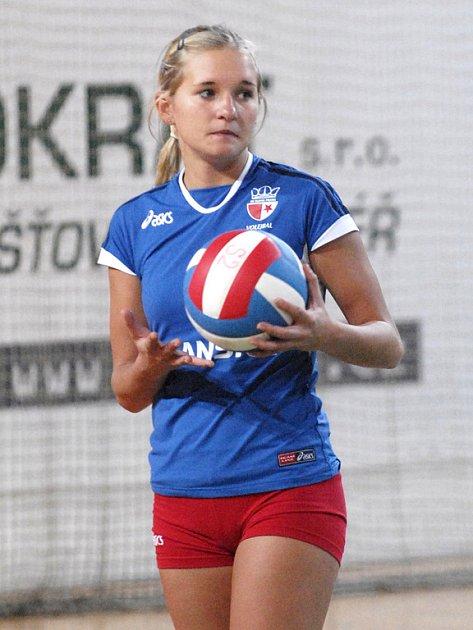 Libero Julie Jášová ještě vloni oblékala dres pražské Slavie.