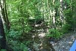 Hrubý potok má být hlavní zásobárnou vody pro uvažovanou přehradu nad Javorníkem v Bílých Karpatech.