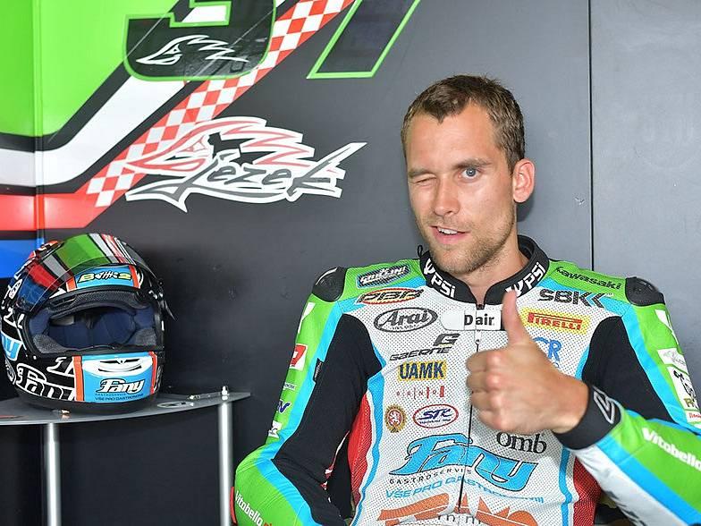 Kuřimský motocyklista Ondřej Ježek.
