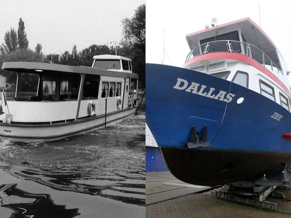 Lodní doprava v Brně slaví 75 let.