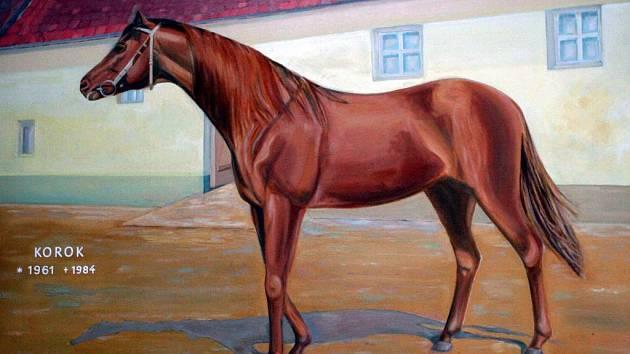 Slavný kůň Korok.