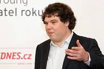 Podnikatel roku Jihomoravského kraje Václav Muchna.