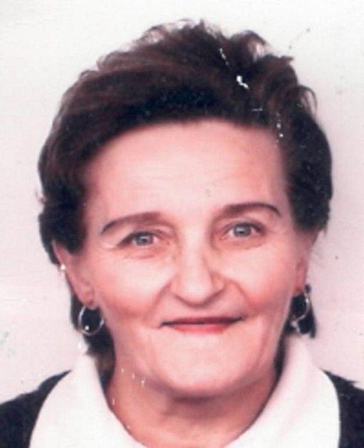 Neznámá žena, která zkolabovala v obchodním domě v Židenicích.
