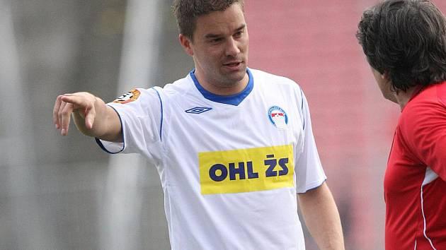 Fotbalový útočník Petr Švancara.