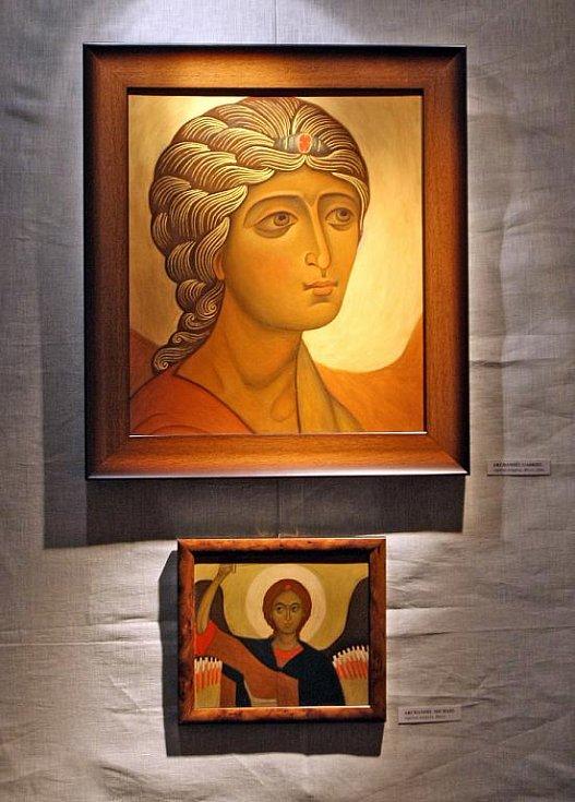Výstava pravoslavných ikon v Brně.