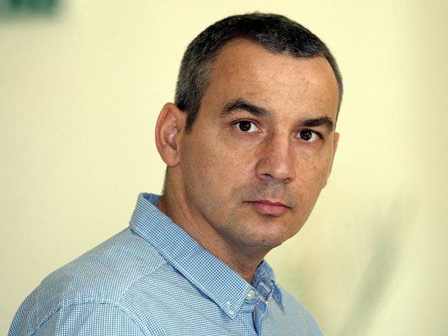 Roman Fürst před Krajským soudem v Brně.