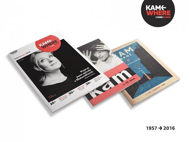 Časopis Kam brněnského Turistického informačního centra.