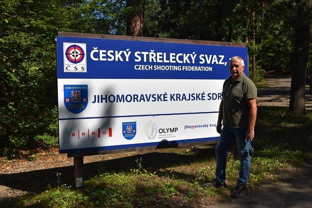 Trenér střelců Vágner.