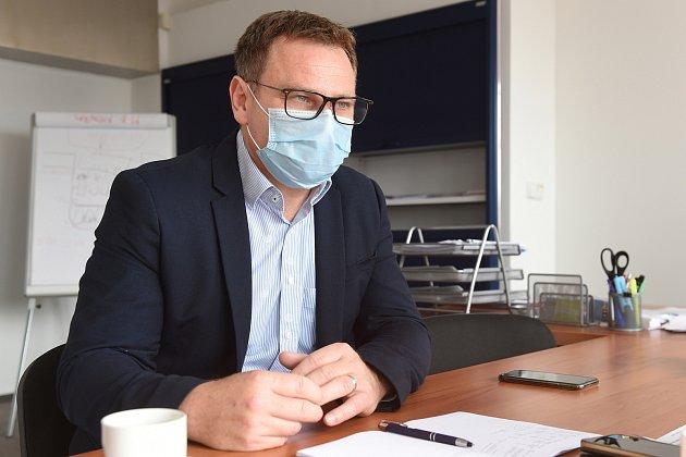 Vlastimil Vajdák, ředitel Fakultní nemocnice usv. Anny vBrně.
