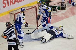 HC Kometa Brno vs. HC Energie Karlovy Vary.