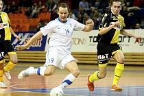 Futsalisté Tanga rozdrtili na domácí palubovce pražskou Slavii