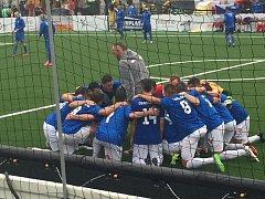 Ještě přesvědčivější převahu přineslo druhé vystoupení české reprezentace na mistrovství Evropy v malém fotbalu. V maďarském Székesfehérváru národní tým vyprovodil Wales po vítězství 6:0.