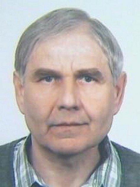 Pohřešovaný Antonín Kampas.