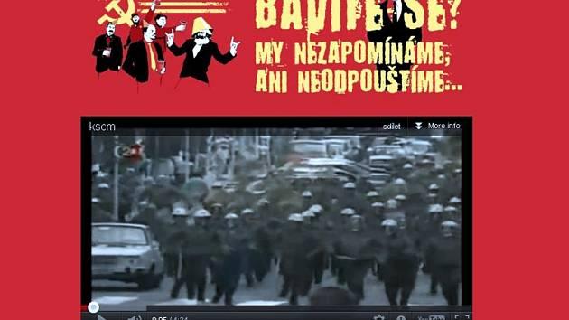 Stránky brněnských komunistů napadla hackerská skupina Anonymous.