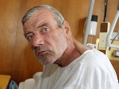 Rostislav Mamula po dvou týdnech v péči lékařů.