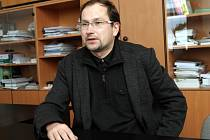 Martin Weiter z Centra materiálového výzkumu Fakulty chemické Vysokého učení technického.