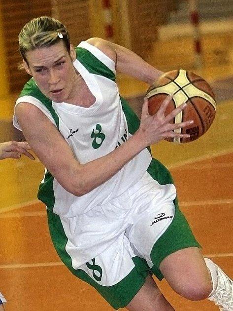 Basketbalistka brněnského Valosunu Zuzana Mračnová