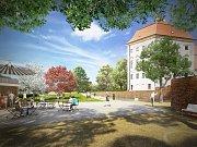 Odpočívat v upravené krajině s výhledem na zámek budou již příští rok lidé v Židlochovicích. V blízkosti barokní památky totiž vznikne nový park. Bude v něm i unikátní vodní prvek inspirovaný vodním příkopem a schodiště.